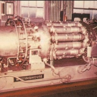 Westinghouse Electric Corporation Model W21 Industrial Gas Turbine
