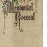 Memorial Record in Memory of Mary Louisa Vanderpool