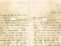 Letter from Henry L. DeForest to Anna M. Sperry (April 7, 1878)
