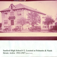 Sanford High School at Ninth Street and Palmetto Avenue
