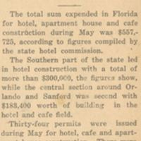 Construction is on the Upgrade: Total of $557,725 in Hotel Building