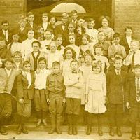 Nellie Furen's Sixth Grade Class at Sanford Grammar School, 1911-1912