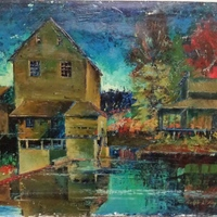 Old Mill by Ralph L. Bagley