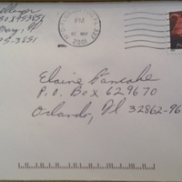 Envelope from A. Dellinger  to Elaine Pancake