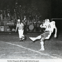 Oviedo High School Lions Punter Gordon Kent