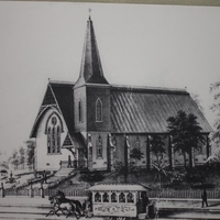 St. James Cathedral's Original Wooden Church Building