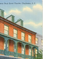 Historic Dock Street Theatre Postcard