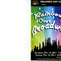 Rainbows Over Broadway, May 14 & 15, 2011