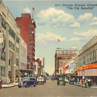 Orange Avenue Postcard