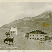 Kühtai with Gaiskogl Postcard