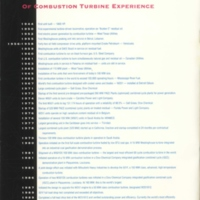 Westinghouse: A Proud History of Combustion Turbine Experience