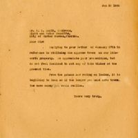 Letter from Chase & Company to G. T. Smith (January 30, 1926)