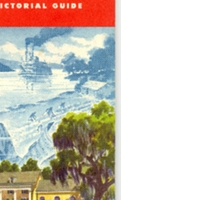 Standard Oil Florida Road Map with Pictorial Guide