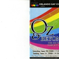 Oz & Beyond: The Music of Harold Arlen, June 20 & 21, 2009