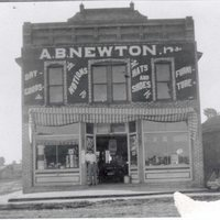 Arthur Bullard Newton's Dry Goods Store