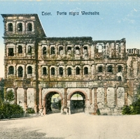 Trier Black Gate Postcard