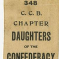 Daughters of the Confederacy Ribbon