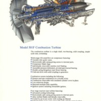 Westinghouse 501F Combustion Turbine