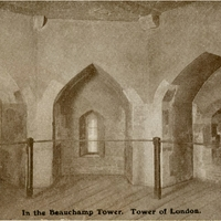 In the Beauchamp Tower, Tower of London Postcard