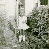 Vivian Louise Black as a Child