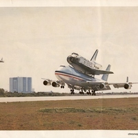 Boeing 747 Transporting the Space Shuttle Columbia