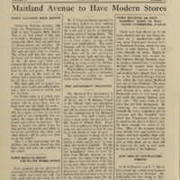 The Maitland News, Vol. 01, No. 11, July 17, 1926