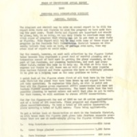 Annual Report of the Board of Supervisors of the Seminole Soil and Water Conservation District, 1950