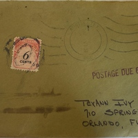 Envelope to Texann Ivy (1968)