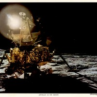 Apollo 14 on Moon