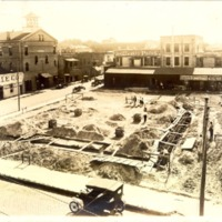 Construction of the Downtown Orlando Post Office, January 1917