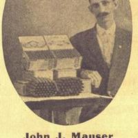John J. Mauser: Manufacturer of Clear Havana Cigars