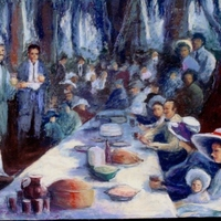 Church Picnic by Bettye Reagan
