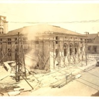 Construction of the Downtown Orlando Post Office, June 1917