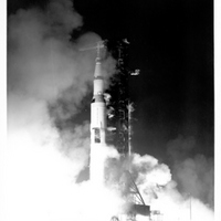 Apollo 12 Liftoff at Launch Pad 39A