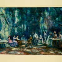 Meads Woods Picnic by Bettye Reagan