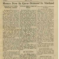 The Maitland News, Vol. 01, No. 03, May 22, 1926