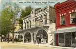 Scene on Pine St. Showing Grand Theatre Postcard