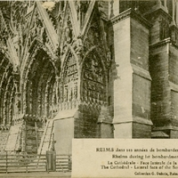 Reims During 1st Bombardment Years Postcard
