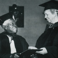 Dr. Mary Jane McLeod Bethune with First Lady Eleanor Roosevelt