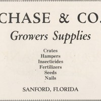 Chase and Company Advertisement