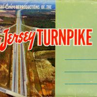 New Jersey Turnpike Postcard