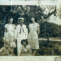 Alice Kathryn Aulin, Charles Warren Aulin, Mary Leonora Aulin, Andrew Aulin, and Bettye Jean Aulin