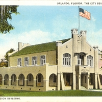 American Legion Building Postcard