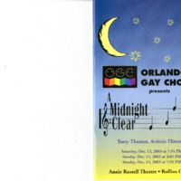 A Midnight Clear, December 13 & 14, 2003
